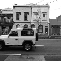 Colonial design 101. #fitzroy #melbourne #victorian #terraces #architecture #landrover #defender90 #landroverdefender #coffee #beards #rovers #blackandwhite by ishmunky Colonial design 101. #fitzroy #melbourne #victorian #terraces #architecture #landrover #defender90 #landroverdefender #coffee #beards #rovers #blackandwhite