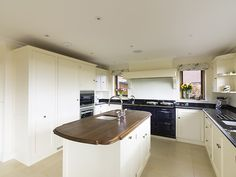 Guildford painted kitchen designed and made by Tim Wood