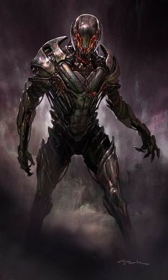 Age Of Ultron, Ultron Marvel, Ultron Comic, Marvel Villains, Marvel Comics Art, Marvel Characters, Marvel Heroes, Comic Character, Character Concept