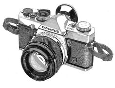 Pen & Ink Camera. #dying this is beautiful.