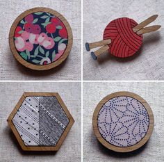 Crafty brooches