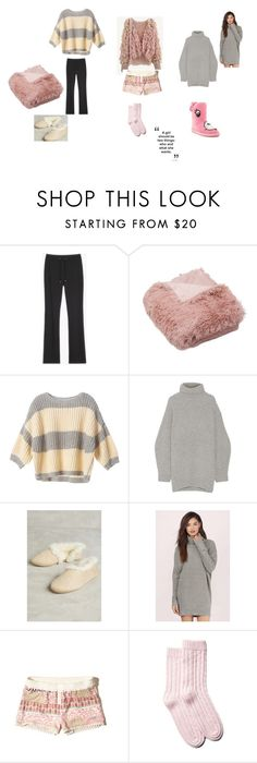 """warm and cozy"" by silviaplatsis on Polyvore featuring Victoria's Secret, Acne Studios, Tobi, Hollister Co., Portolano and Iron Fist"
