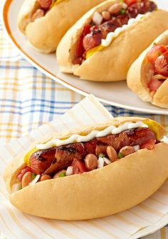 Bacon-Wrapped Cowboy Hot Dogs —