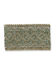 DecoratorsBest - Detail1 - RA Trad Braid - Jade - Trad Braid - Jade - Trim - DecoratorsBest