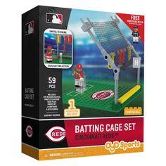 MLB Cincinnati Reds Oyo Batting Cage Set - 59pcs