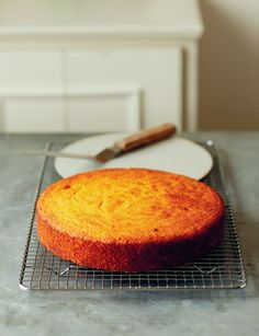 This citrus cake recipe from chef and TV presenter John Torode has a fantastic flavour, as it uses whole lemons and oranges to make the cake. Polenta and ground almonds make for a moist and delicate crumb, as well as making this cake gluten-free. Gluten Free Cakes, Gluten Free Desserts, No Bake Desserts, Just Desserts, Delicious Desserts, Yummy Food, Sweet Recipes, Cake Recipes, Dessert Recipes