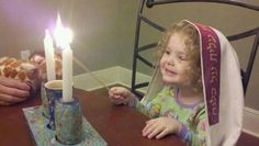 Shabbat Shalom - the delight of a young daughter!