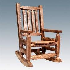 Homestead Barnwood Child's Rocking Chair