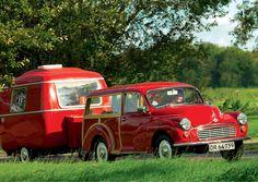 red caravan, camper, trailer - trendwelt.blogspot.com