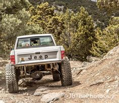 Sitting triumphantly at the top of Wayne's World. #jeep #comanche #jeeptruck…