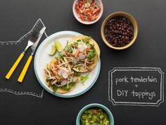 Tailor these pulled pork tostadas to your family's liking with DIY toppings. #RecipeOfTheDay