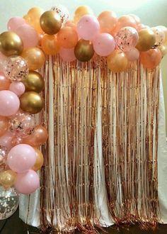 Algo sencillo, discreto y muy fácil de hacer en casita #ArcoOrgánicoSencillo Champagne Birthday, Gold Birthday Party, 30th Birthday Parties, Birthday Party Themes, My Birthday, Birthday Ideas, 30th Party, Champagne Party, Surprise Birthday