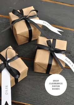 How to Jazz up a Plain Ol' Favor Box | Smitten On Paper