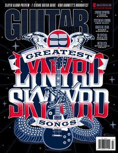 Gemma O'Brien Cover Art for Guitar World Magazine — The Jacky Winter Group
