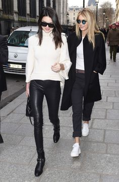 Kendall Jenner and Gigi Hadid - Out and about in Paris, March 6, 2015.
