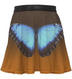 Loving this Orange & Blue Butterfly Skirt - Toddler & Girls on Tie Dye Skirt, Dress Skirt, Kids Line, Skirts For Kids, Blue Butterfly, Ballet Skirt, Toddler Girls, Lady, Orange