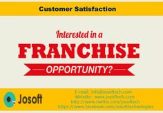 We offer franchise to people to join hands in the growth and expansion of Josoft Technologies. @josoftechnologies #josoftech