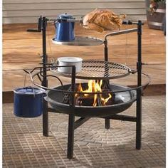 This sweet set-up is portable. Take this with you for extended camping trips or as a starter kitchen for Off the Grid Living. :) ღ♥ღ