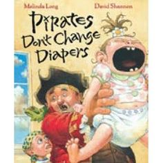 "Chalk Talk: A Kindergarten Blog: Pirates Don't Wear Diapers and Kindergartners Don't ...GREAT way to Brainstorm things Students ""DON'T DO."" Includes Pirate paper plate craft...CUTE"