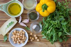 chickpea salad with lemon/dill vinaigrette