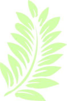 free stencil tropical leaf - Google Search