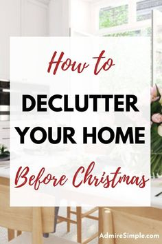Step-by-step decluttering plan for you. Learn how to declutter your home room-by-room without feeling overwhelmed. Follow these decluttering tips to declutter fast and get ready for the holidays. Minimalist Living Tips, Becoming Minimalist, Minimalist Kids, Minimal Living, Simple Living, Disposing Of Paint, Declutter Your Mind, Clean Fridge, Making Life Easier