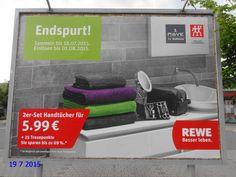 606. - Plakat in Stockach. / 19.07.2015./