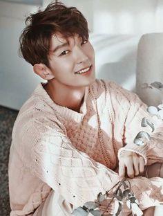 como no amar esa hermosa sonrisa #leejoongi