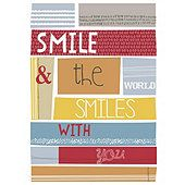 Smile and the World Smiles with You Canvas 25 x 35cm