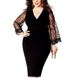 COCOEPPS Women's Plus Size Deep V Neck Sheer Lace Long Fl... https://www.amazon.com/dp/B0783GV333/ref=cm_sw_r_pi_dp_U_x_pjQyAb3FPZ4FT