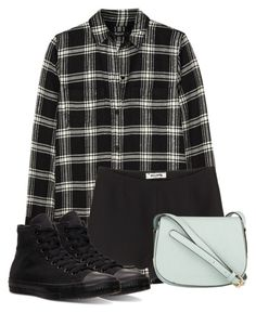 """bleh...."" by rejected-outcast ❤ liked on Polyvore featuring Madewell, Valentino and Converse"