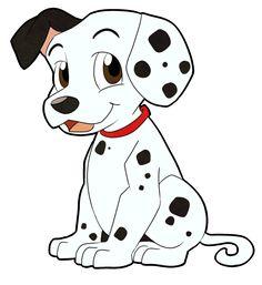 Dalmatian by LeniProduction on DeviantArt Cute Disney Drawings, Art Drawings For Kids, Cartoon Drawings, Animal Drawings, Cute Drawings, Drawing Sketches, Cat Template, Kawaii Doodles, Cartoon Dog