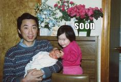 soon... this little girl is totally creeping me out!!!