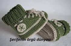 Baby Knitting Patterns Slippers Knitting Tutorials – Knitting Pattern Baby Shoe 'My First Sneaker' – a Desi …Knitting Patterns - Knitting Sample Child Booties 'My First Sneaker' - a novel product by piccolo_popolo on DaWandaThis is a video tuto Crochet Boots Pattern, Baby Booties Knitting Pattern, Knitted Booties, Baby Knitting Patterns, Knit Shoes, Knitting Tutorials, Crochet Patterns, Baby Boy Booties, Baby Boots
