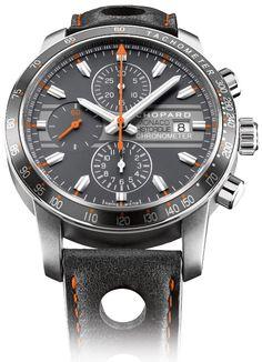 Chopard Grand prix de monaco historique chronograph 2012 its chopard's legacy movement, in titanium!