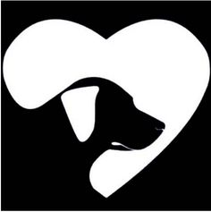 Love Labrador Retriever Dog Car Decal Sticker