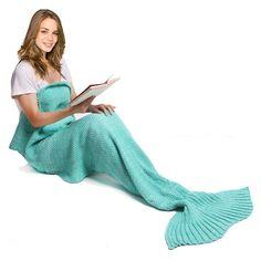 Mermaid Yarn Blanket