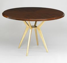 Axel Round Dining Table | DwellStudio