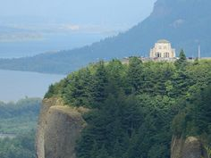 Oregon Scenery - The Vista House overlooking the awesome Columbia River Gorge-     Flickr - Photo Sharing!