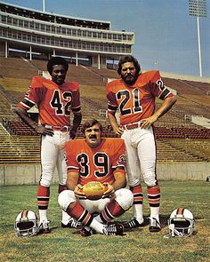 Memphis Grizzlies - Professional Football Team - - here NFL greats Paul Warfield, Larry Czonka, and Jim Kiick who all played for the Grizzlies World Football League, Nfl Football Players, Football And Basketball, National Football League, Football Helmets, Football Moms, American Sports, American Football, 1972 Miami Dolphins