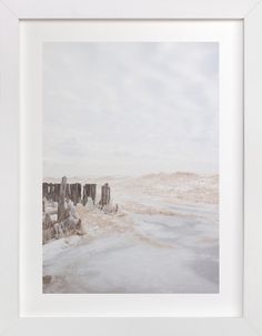 Iced Lake by jessi gilbert at minted.com