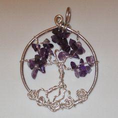 Tree of life necklacewire wrapped jewelry by WireWrapJewels