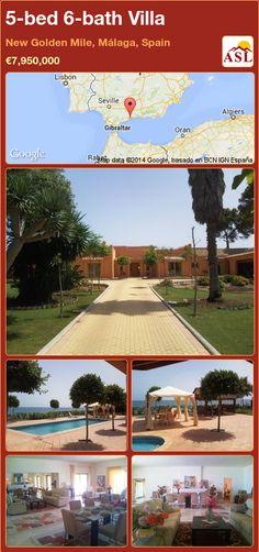 5-bed 6-bath Villa in New Golden Mile, Málaga, Spain ►€7,950,000 #PropertyForSaleInSpain