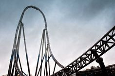 Stealth Ride at Thorpe Park Staines Surrey England