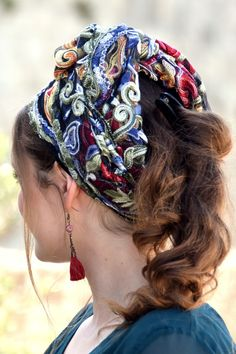 🧡💛💜Stunning Embroidery Floral Headband handmade Mitpachat, Head Covering, Scarf, Tichel, fashionable and so comfortable. #headscarf #Inspire #HeadwrapsStyle #Turban #summerstyle #beautiful #beauty #fashion #style #love #jew #jewish #judaic #judaica #judaism #torah #tanakh #hebrew #hebrewlanguge #ashkenazi #mizrahi #sephardi #religion #religious #israel #israeli #tichel #tichels #mitpachat #headcovering #modesty #beautiful #jewishwomen #mitpachat #scarves #headwrap #haircovering Floral Headbands, New Pins, Floral Embroidery, Head Wraps, Fabric Design, Poppies, Compliments, Head Scarfs, Awesome Gifts