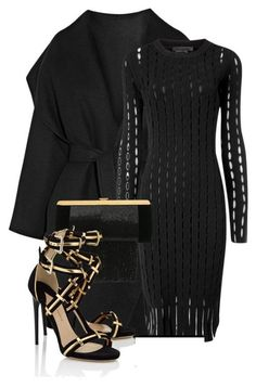 Ideas de outfits: muy elegantes looks... Negro Total... ❤️
