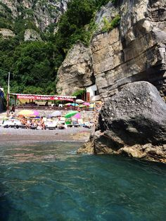 A must see on the Amalfi Coast! Ristorante Da Adolfo, Positano, Italy