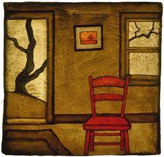 GC Myers, 1959 ~ Stylized Symbolic Landscapes   Tutt'Art@   Pittura * Scultura * Poesia * Musica  