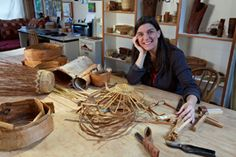 Joan Carrigan - Basket Maker & Basketry Teacher on Salt Spring Island, BC, Canada