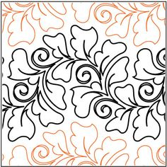 Fanfare Grande pantograph pattern by Patricia Ritter of Urban Elementz